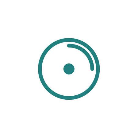 ビニール レコードのアイコン