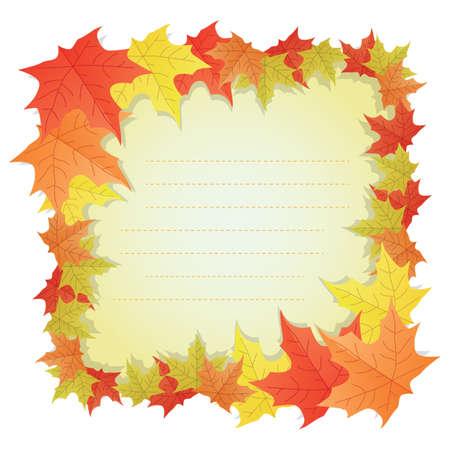 maple leaves label