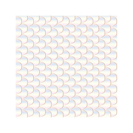 A fish scale background illustration.