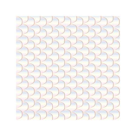 Una ilustración de fondo de escala de pescado. Ilustración de vector