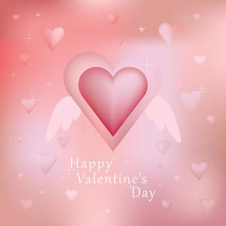 valentines day wish Illustration