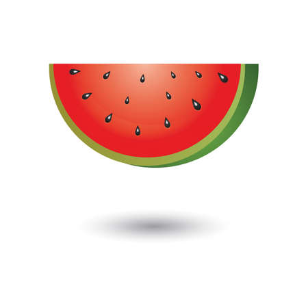 watermelon slice Stock Illustratie