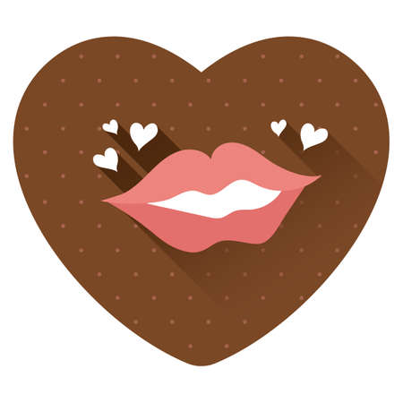 lips with hearts
