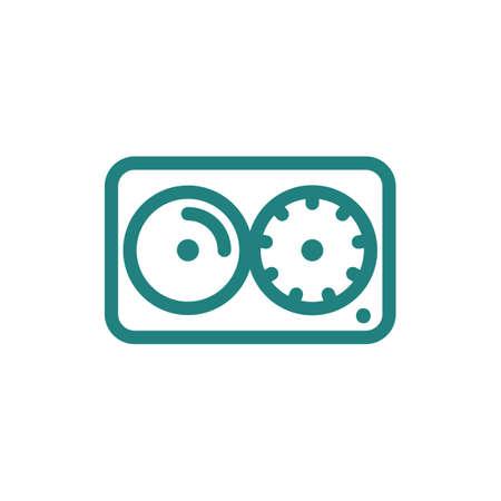 DJ mixer pictogram