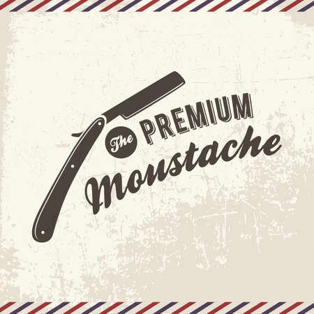 the premium moustache