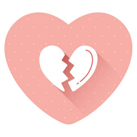 broken heart Stock Vector - 81420057