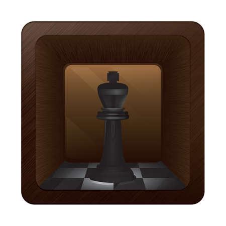 チェスの駒  イラスト・ベクター素材