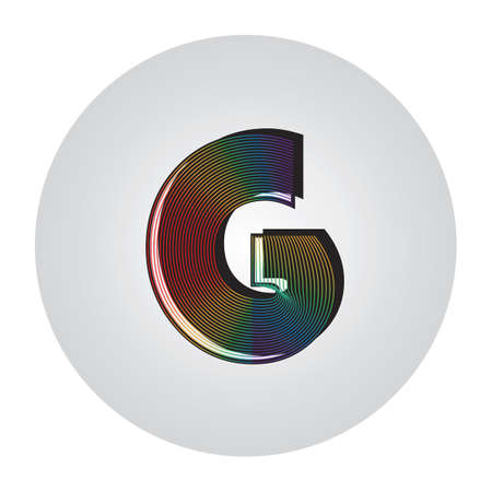 Alphabet g Standard-Bild - 81486297