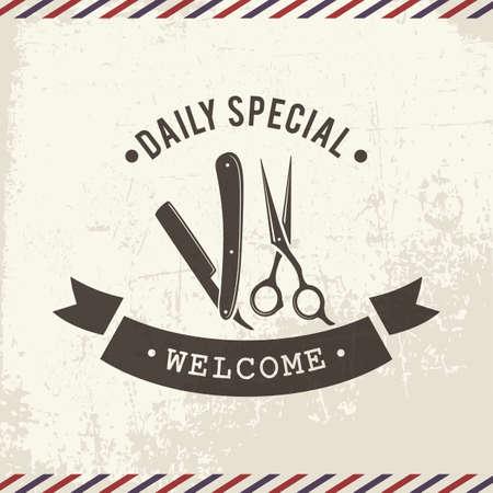 barbershop welcome board