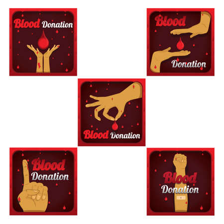 Blood donation collection