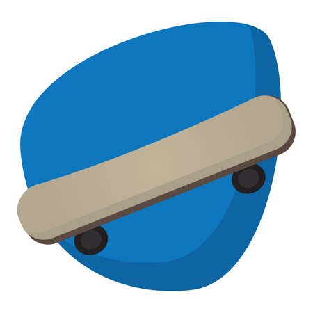 A skateboard illustration.