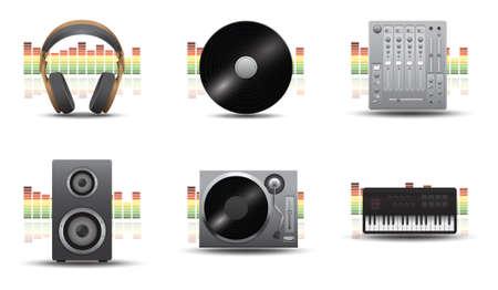 Equipo musical Foto de archivo - 81537058