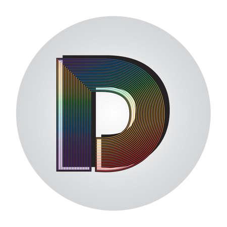 アルファベット d