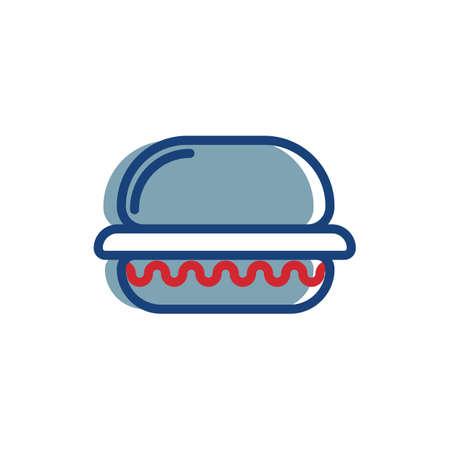 햄버거 일러스트