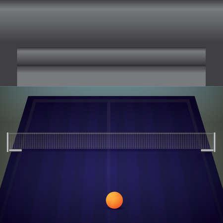 A table tennis table illustration. Stock fotó - 81470164