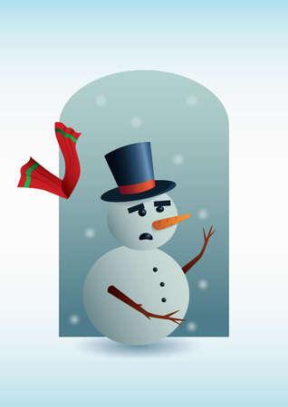 snowman Фото со стока - 81420128