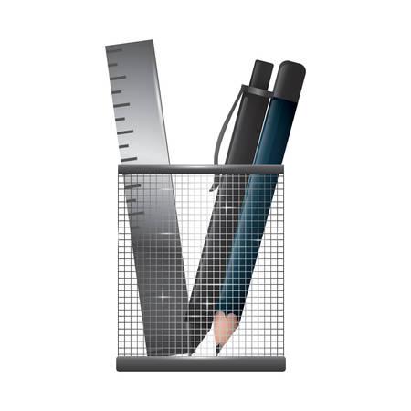 pen holder Illustration