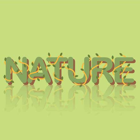 nature 矢量图像