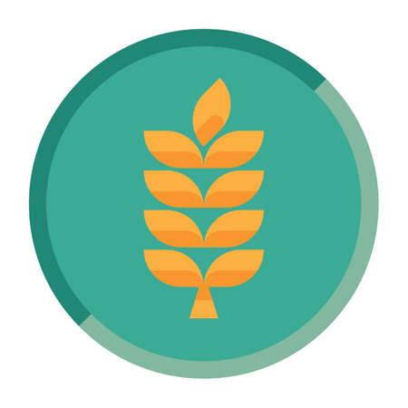 wheat grains Ilustracja