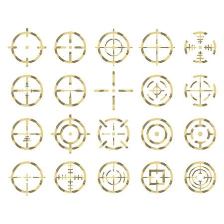set of crosshairs