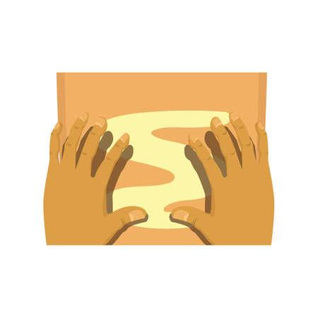 body massage Zdjęcie Seryjne - 106670272