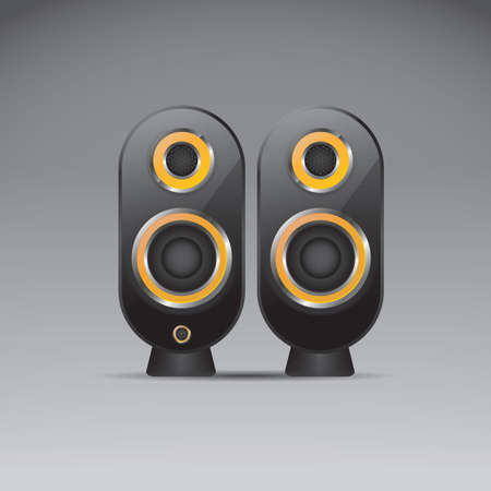 computer speakers Stockfoto - 106670304