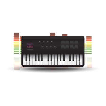 keyboard Stock Vector - 81537189