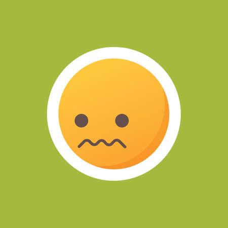 Nervous emoticon