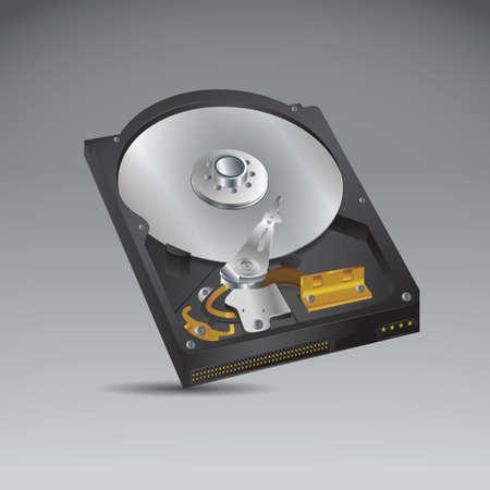 disco duro Ilustración de vector