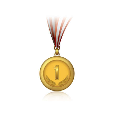 First gold medal