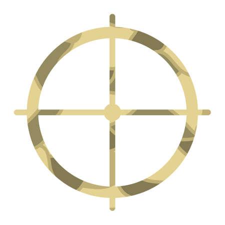 A crosshair illustration.