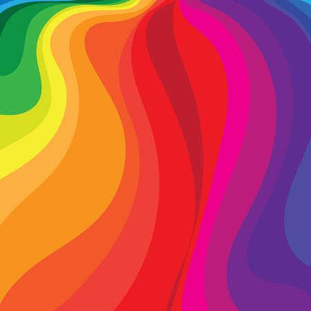 虹の流れる背景
