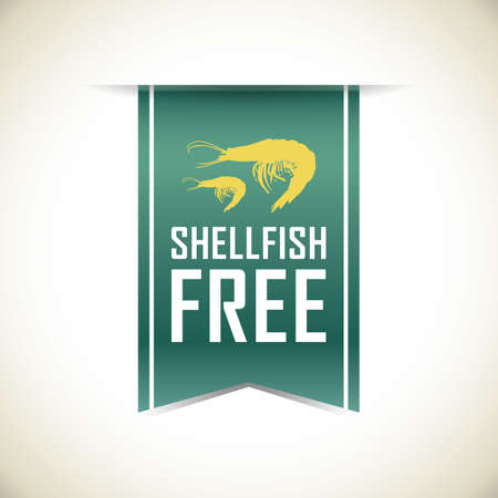 shellfish free banner Illustration