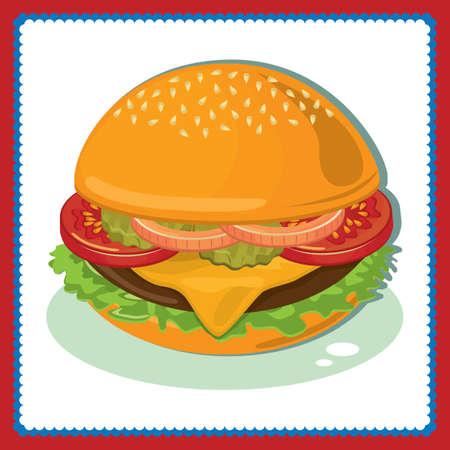 ハンバーガー 写真素材 - 81420177