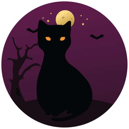 black cat 向量圖像