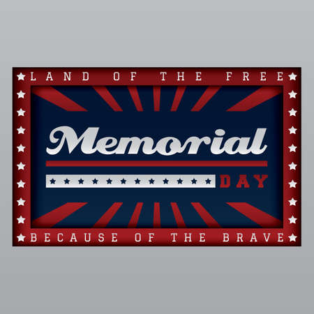 memorial day Banque d'images - 106670387
