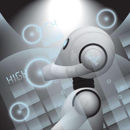 Dj ミキサーで遊んでロボット