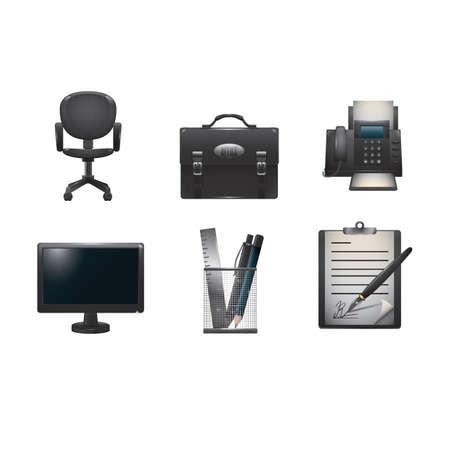 office アイコン コレクション  イラスト・ベクター素材