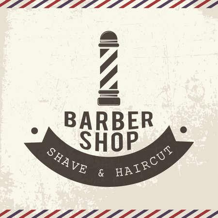 barbershop Illusztráció