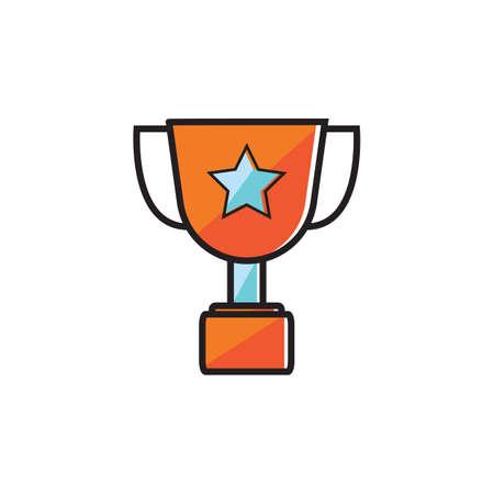 Golden trophy Stock fotó - 81470037