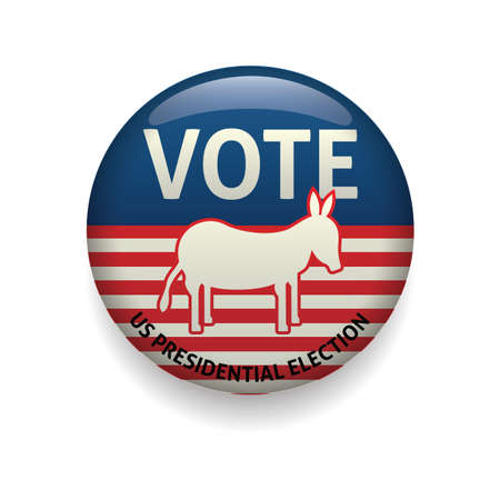donkey vote badge