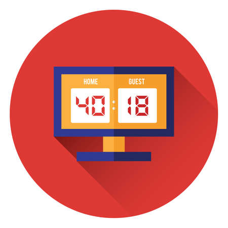 scoreboard  イラスト・ベクター素材
