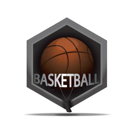 Icône de basketball Banque d'images - 81470045
