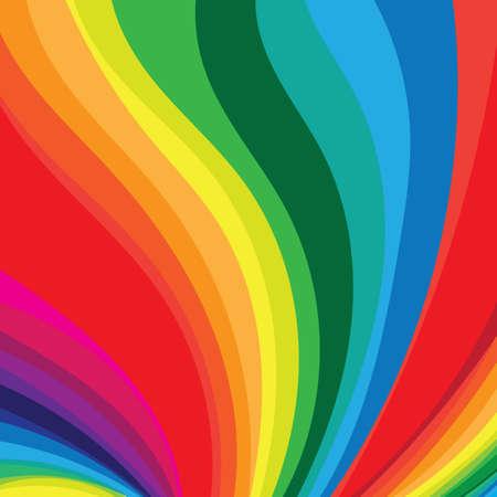 虹の流れの背景