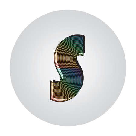 アルファベット s