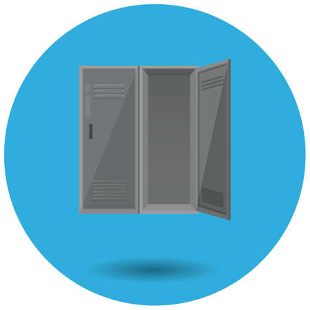 Vestidor Ilustración de vector