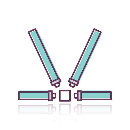 safety belts Stock fotó - 81419231
