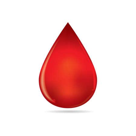 Goutte de sang Banque d'images - 81418881