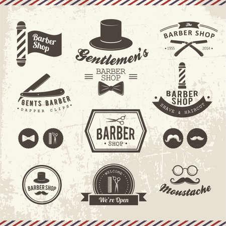 icone da barbiere