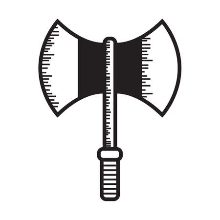double headed battle axe